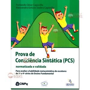 Prova de consciência sintática (PCS)