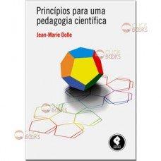 Princípios para uma pedagogia científica