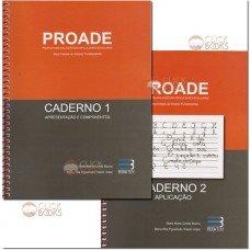 PROADE - Proposta de avaliação das dificuldades escolares - 02 volumes