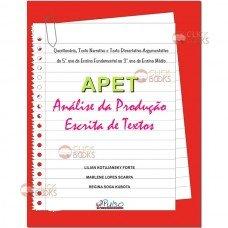 APET - Análise da produção escrita de textos